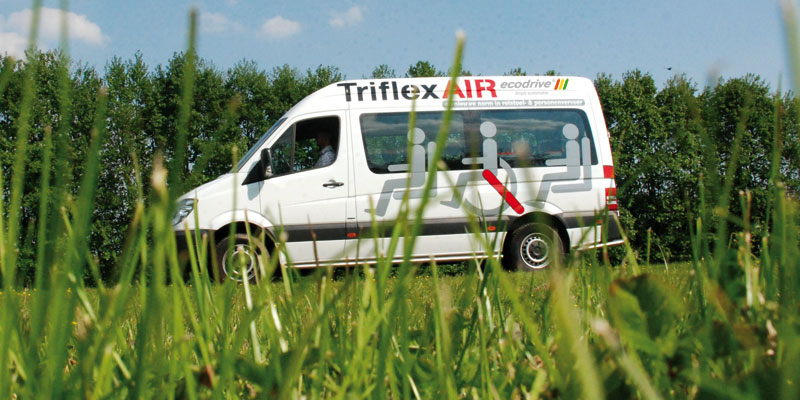 Bespaar nog meer op uw brandstofkosten! Met TriflexAIR plus gratis ECOdrive!