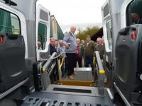 De nieuwe bus is hun eerste bus TriflexAIR, het totaalsysteem voor rolstoeltoegankelijk vervoer.
